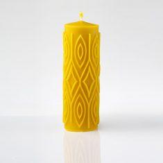 Natūralaus vaško žvakė