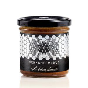 Medus su bičių duona
