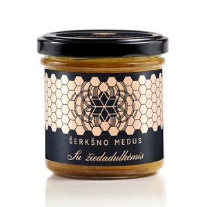 Medus su žiedadulkėmis