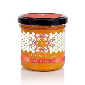Šerkšno medus su šaltalankiais